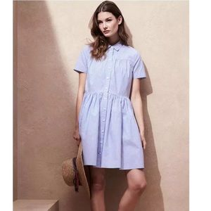 Kate Spade Broome Street Oversized Poplin Dress